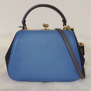 New💃Coach Frame Bag 23 In Colorblock